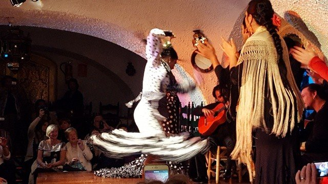 Flamenco dancers Barcelona Spain