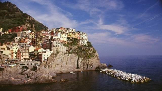 Cinque Terre - one of Italy's most beautiful regions