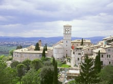 Beautiful Tuscany hilltop villages becon
