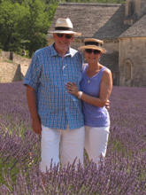 robbi zeck and jim llewellyn provence lavender