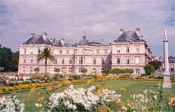 The Luxembourg palace and gardens