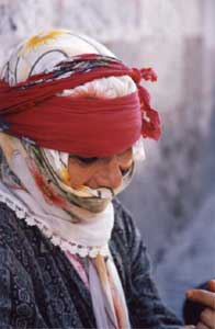 Turkish Woman by Wendy Newman