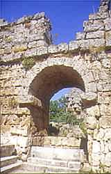 Ruins of a Roman bath house