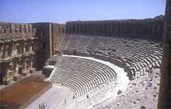 Beautifully preserved Greco-Roman amphitheatre